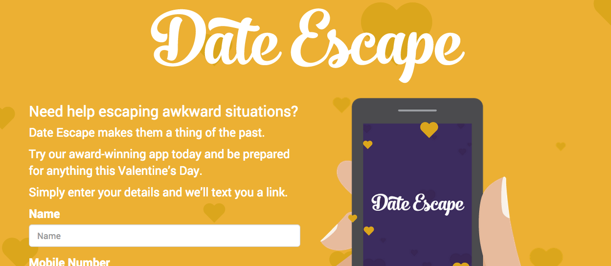 Date Escape App