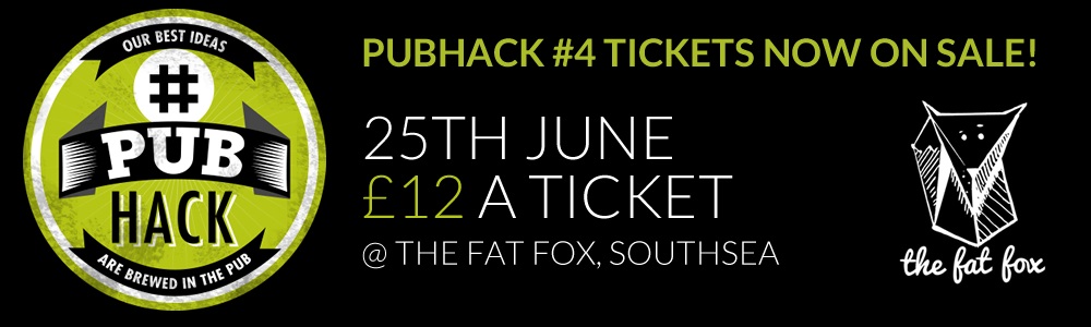 pubhack ticket sale