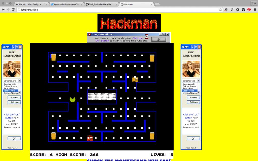HackMan screenshot